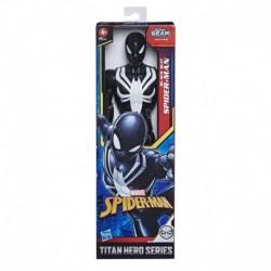 Marvel Spider-Man: Titan Hero Series Villains Black Suit Spider-Man 12-Inch-Scale Super Hero Action Figure