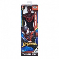 Marvel Spider-Man: Titan Hero Series Miles Morales 12-Inch-Scale Super Hero Action Figure