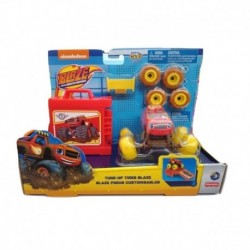 Blaze And The Monster Machines Tune-Up Tires Blaze with Yellow Tyre
