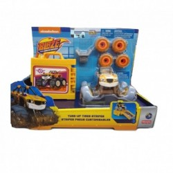 Blaze And The Monster Machines Tune-Up Tires Stripes with Light Purple Tyre