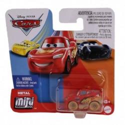Disney Pixar Cars Mini Racers - Muddy Lightning McQueen