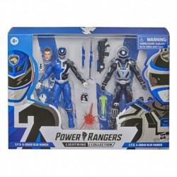 Power Rangers Lightning Collection S.P.D. B-Squad Blue Ranger Versus A-Squad Blue Ranger 2-Pack