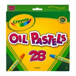 Crayola 28 Colors Oil Pastels
