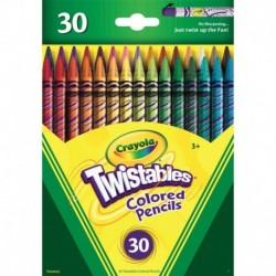 Crayola 30 Colors Twistables Colored Pencils