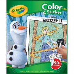 Crayola Frozen Color n Sticker