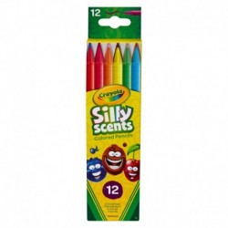 Crayola 12 Colors Silly Scents Twistables Colored Pencils