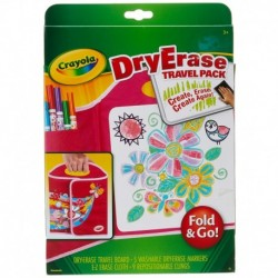 Crayola Dry Erase Board Travel Pack