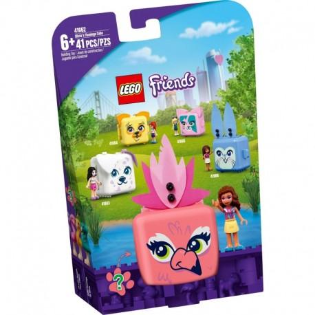 LEGO Friends 41662 Olivia's Flamingo Cube