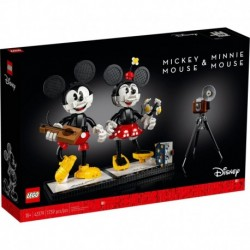 LEGO Disney Princess 43179 Mickey Mouse & Minnie Mouse Buildable Character