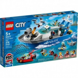 LEGO City Police 60277 Police Patrol Boat