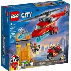 LEGO City Fire 60281 Fire Rescue Helicopter