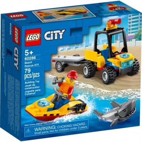 LEGO City Great Vehicles 60286 Beach Rescue ATV