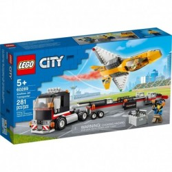 LEGO City Great Vehicles 60289 Airshow Jet Transporter