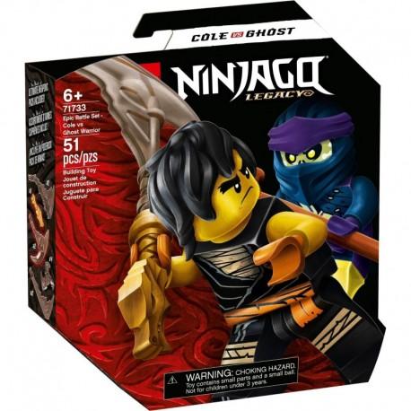 LEGO NINJAGO 71733 Epic Battle Set - Cole vs. Ghost Warrior