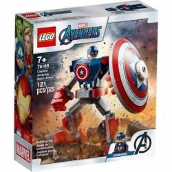 LEGO Marvel Avengers Movie 4 76168 Captain America Mech Armor