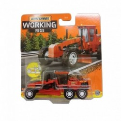 Matchbox Cars Working Rigs Road Grader
