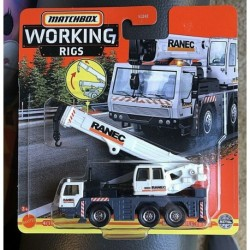 Matchbox Cars Working Rigs Mobile Crane