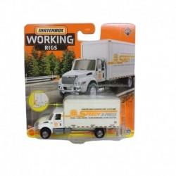 Matchbox Cars Working Rigs International MV Box Truck
