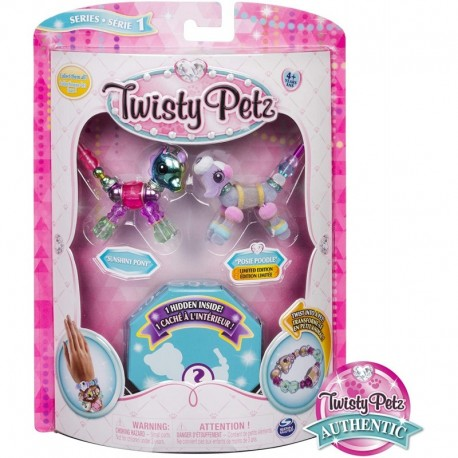Twisty Petz Sunshiny Pony, Posie Poodle and Surprise Collectible