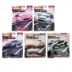 Hot Wheels Fast & Furious Complete Box of 10 - Dash J