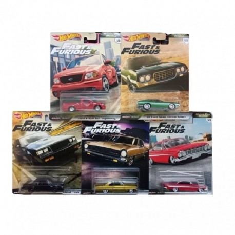 Hot Wheels Fast & Furious Complete Box of 10 - Dash G