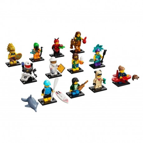 LEGO Minifigures 71029 Series 21 Complete Set of 12