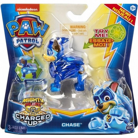 Paw Patrol Mighty Pups Charged Up Hero Pup Super Charged Chase
