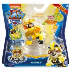 Paw Patrol Mighty Pups Charged Up Hero Pup Super Charged Rubble