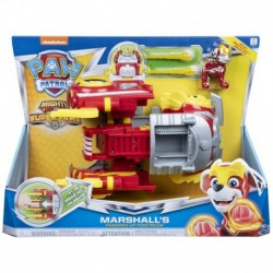 Paw Patrol Mighty Pups Super Paws Power Changing Vehicle Marshall