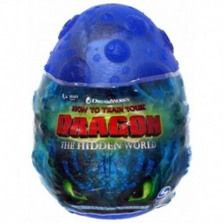 How to Train Your Dragon 3 Plush Dragon Eggs S2 - Dark Blue