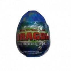 How to Train Your Dragon 3 Plush Dragon Eggs S2 - Blue