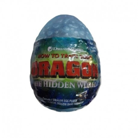 How to Train Your Dragon 3 Plush Dragon Eggs S2 - Light Blue