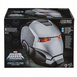 Marvel Legends Series War Machine Roleplay Electronic Helmet with LED Light FX