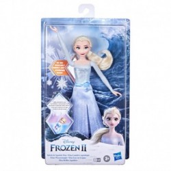 Disney Frozen 2 Splash and Sparkle Elsa Doll