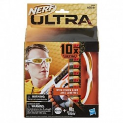 Nerf Ultra Vision Gear and 10 Nerf Ultra Darts - Darts Compatible Only with Nerf Ultra Blasters