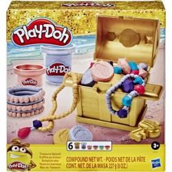 Play Doh Gold Collection Treasure Splash