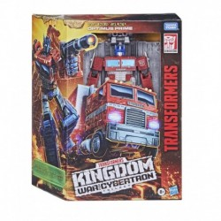 Transformers Generations War for Cybertron: Kingdom Leader Optimus Prime