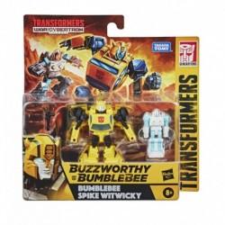 Transformers Buzzworthy Bumblebee GEN WFC Core Scale 2PK