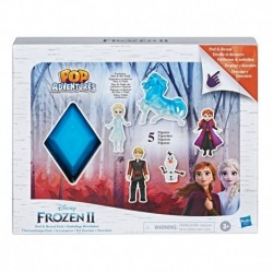 Disney Frozen Peel and Reveal Pack, 5 Dolls in Storybook Style Package, Toy Inspired by Disney's Frozen 2