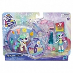 My Little Pony Equestria Girls Princess Celestia Potion Princess 3-Inch Mini Doll and Pony Toy with 20 Accessories
