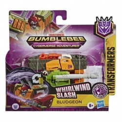 Transformers Bumblebee Cyberverse Adventures Action Attackers: 1-Step Bludgeon Figure, Whirlwind Slash Action Attack