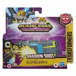 Transformers Bumblebee Cyberverse Adventures Action Attackers: 1-Step Stealth Force Bumblebee Figure