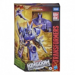 Transformers Toys Generations War for Cybertron: Kingdom Voyager WFC-K9 Cyclonus Action Figure