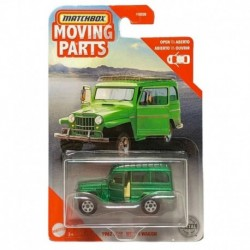 Matchbox Moving Parts 1962 Jeep Willys Wagon