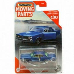 Matchbox Moving Parts 1964 Pontiac Grand Prix
