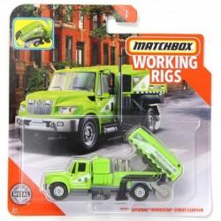 Matchbox Cars Working Rigs International Workstar Street Cleaner Truck
