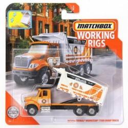 Matchbox Cars Working Rigs International Workstar 7500 Dump Truck