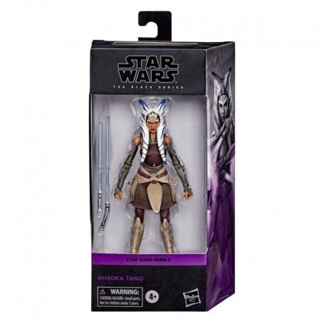 Star Wars The Black Series Ahsoka Tano Toy 6-Inch-Scale Star Wars Rebels Collectible Action Figure