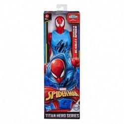 Marvel Spider-Man: Titan Hero Series Blast Gear Marvel's Scarlet Spider 12-Inch-Scale Super Hero Action Figure Toy