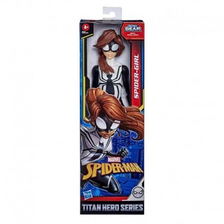 Marvel Spider-Man: Titan Hero Series Blast Gear Spider-Girl 12-Inch-Scale Super Hero Action Figure Toy